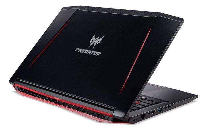 acer gaming laptop-outside view