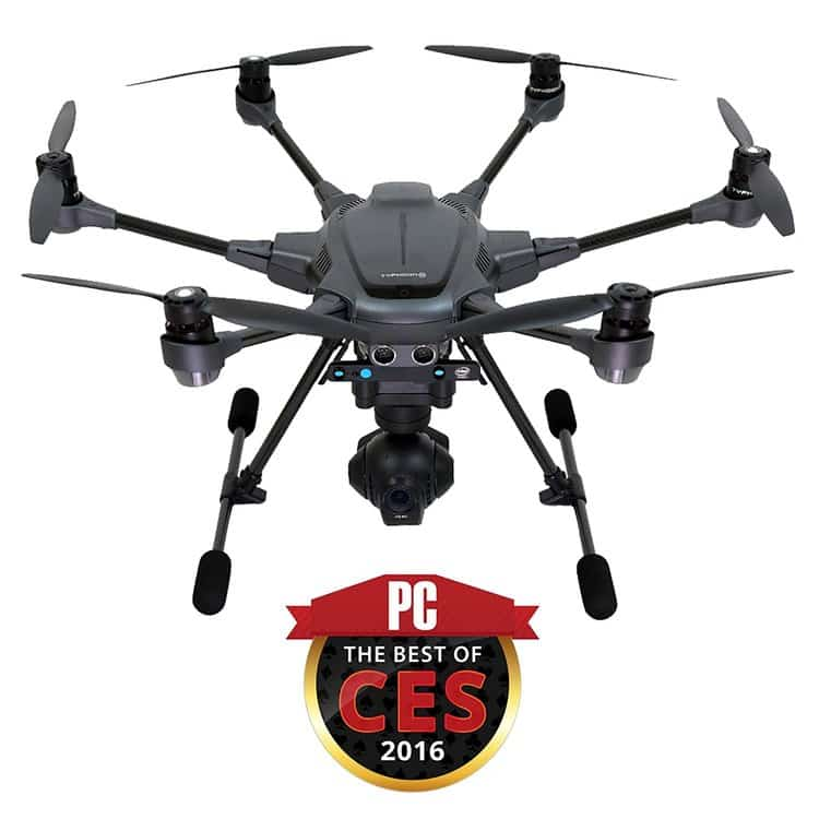Hexacopter Yuneec Typhoon H Pro 4K drone camera