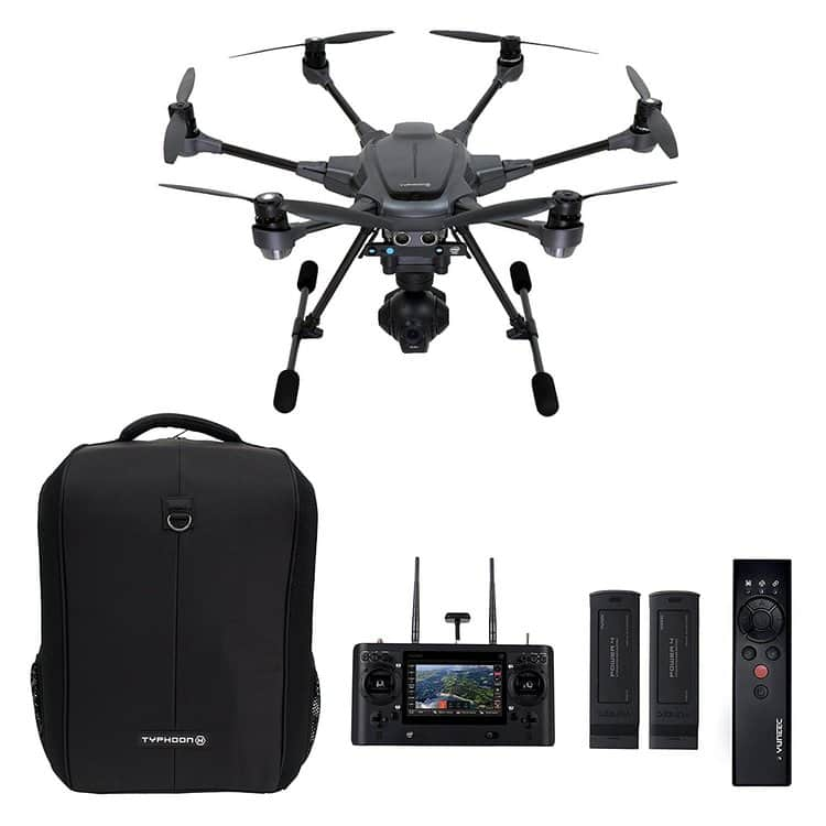 Yuneec Typhoon H Pro 4K drone camera-package