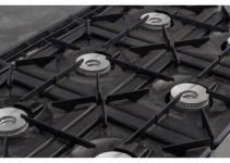 how to clean gas range