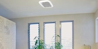 Bathroom Exhaust fan with LED light and remote
